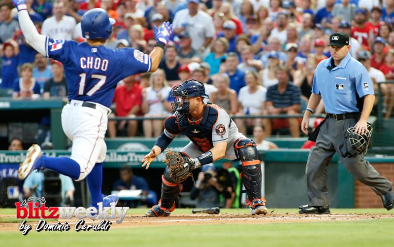 Rangers vs Astros (2b)