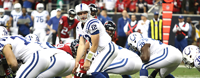 Facing Andrew Luck in Indianapolis is a tall order for the Bengals to fill. Photo Courtesy: Rick Leal