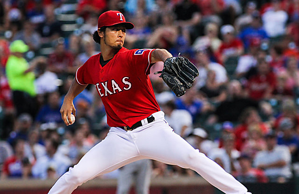 Yu Darvish was shut down towards the end of last season but looks to be back on track. Photo Courtesy: Darryl Briggs