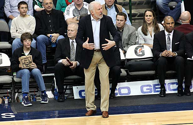 Gregg Popovich joined a very elite club on Monday night when he earned his 1000th win. Photo Courtesy: Dominic Ceraldi
