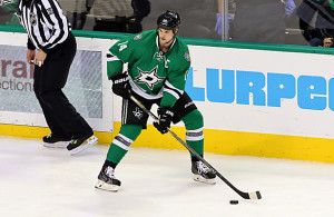 Frustration is starting to build up for the Dallas Stars captain. Photo Courtesy: Dominic Ceraldi