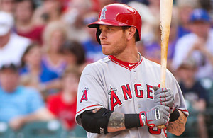 Since signing with the Angels Josh Hamilton has endured the worst of times. Photo Courtesy: Darryl Briggs