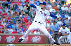 The Texas Rangers are hoping to add Matt Harrison for rotation depth. Photo Courtesy: Joe Lorenzini