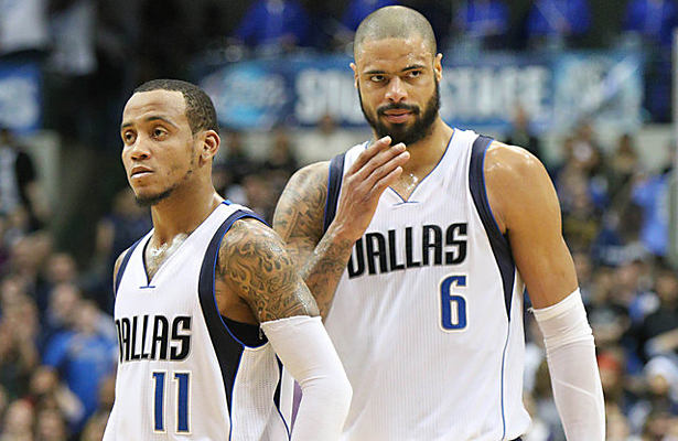 Monta Ellis and Tyson Chandler are on a postseason mission. Photo Courtesy: Michael Kolch