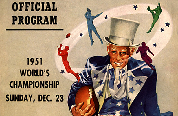 The 1951 Los Angeles Rams NFL Championship was also the State of California's first major professional championship. Photo Courtesy: Andy Moursund