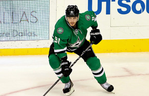 23-year-old Tyler Seguin has a knee injury and could miss three to six weeks. Photo Courtesy: Dominic Ceraldi