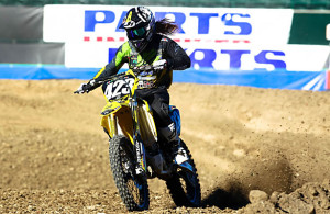 Vicki Golden has a lot of pressure heading into Saturday's Monster Energy Supercross race. Photo Courtesy: FeldEntertainment.com