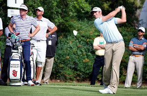 Dustin Johnson shot 3-under 69 on Sunday to win the Cadillac Championship, his first title since returning from a leave of absence. Photo Courtesy: ImagopixATL