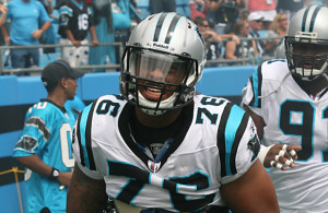 Will Greg Hardy escape his troubled past and excel with the Cowboys? Photo Courtesy: Parker Anderson