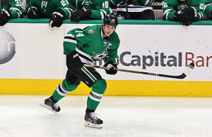Jamie Benn and the Dallas Stars have a slim shot at making the playoffs. Photo Courtesy: Dominic Ceraldi