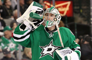 Kari Lehtonen seems to be the number 1 goaltender down the final stretch, will he be in the playoffs?  Photo Courtesy: Dominic Ceraldi