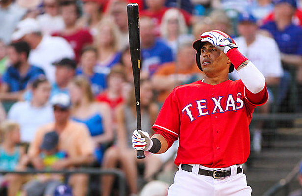 To do his job effectively as the leadoff hitter, Leonys Martin will have to improve his on-base percentage. Photo Courtesy: Darryl Briggs