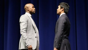 Floyd Mayweather v Manny Pacquiao - Press Conference