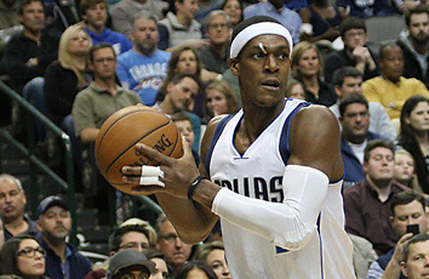 Rajon Rondo will be tested this week against very good Western Conference foes. Photo Courtesy: Michael Kolch