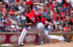 Yu Darvish at risk for not only missing all of 2015, but also all of 2016. Photo Courtesy: Kent Gilley