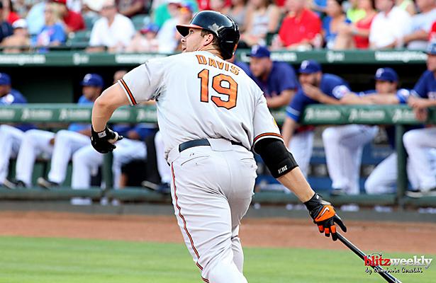 Will Chris Davis and the Baltimore Orioles surprise the pundits again this season? Photo Courtesy: Dominic Ceraldi