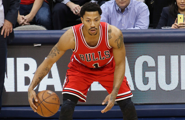 Derrick Rose returned just in time to gear up for the playoffs. Photo Courtesy: Dominic Ceraldi