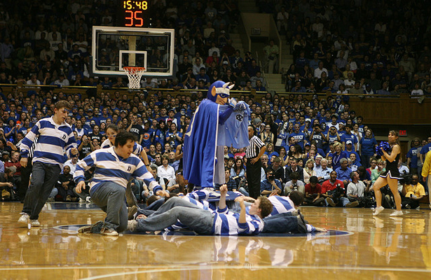 Will the Duke Blue Devils earn their second title in five years be beating the Wisconsin Badgers? Photo Courtesy: Max Masnick