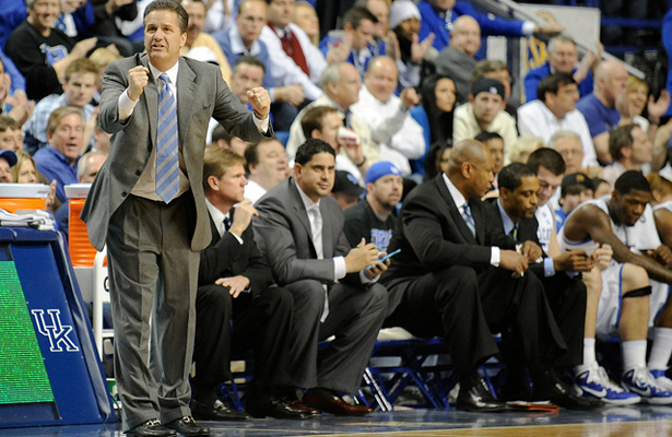 John Calipari and the Kentucky Wildcats are on the brink of a perfect season. Photo Courtesy: Wade Rackley / Tennessee Journalist