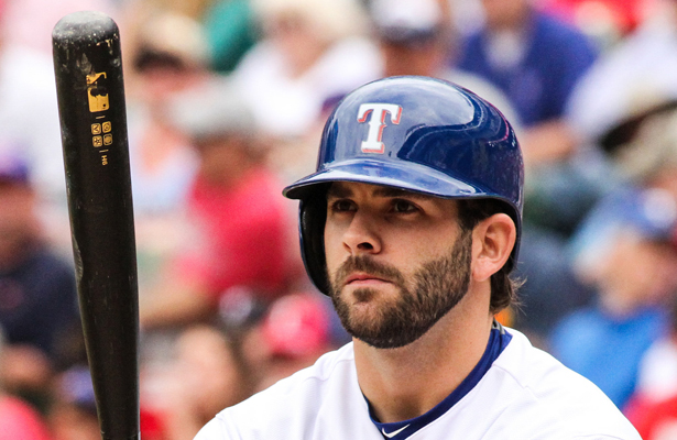 Mitch Moreland is one of the few hitters doing well for the Rangers. Photo Courtesy: Darryl Briggs
