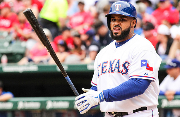 Prince Fielder delivered the goods in the Rangers first victory of the season. Photo Courtesy: Darryl Briggs