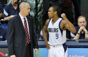 Rajon Rondo might have just played his last game as a Dallas Maverick based on his Game 2 performance. Photo Courtesy: Dominic Ceraldi