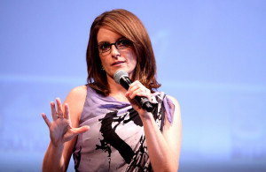 Tina Fey drops some knowledge bombs on you. Photo Courtesy: Gage Skidmore