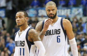 It is safe to believe that the fate of the Mavericks postseason rests with these two. Photo Courtesy: Michael Kolch