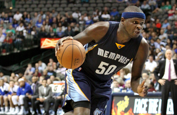 Zach Randolph will have a field day crashing the boards against the Trail Blazers. Photo Courtesy: Dominic Ceraldi
