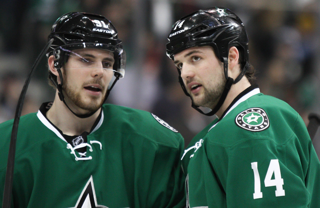 Jamie Benn, Tyler Seguin and the rest of the Dallas Stars look to bounce back after a disappointing season. Photo Courtesy: Michael Kolch