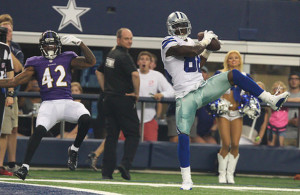 If Dez Bryant and Jerry Jones do not reach an agreement by July 15, there's a possibility that Bryant will not play in the home opener. Photo Courtesy: Michael Kolch