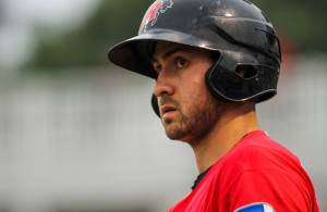 Joey Gallo making his Major League debut after being called up from the Frisco Roughriders