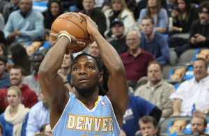 Is this the season that Kenneth Faried and the Denver Nuggets put it all together for a playoff run? Photo Courtesy: Dominic Ceraldi