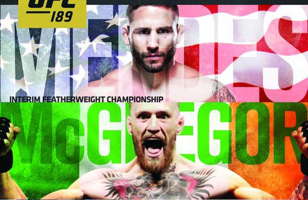 UFC 189 will feature an interim championship battle between Chad Mendes and Conor McGregor as well their new Reebok uniforms.