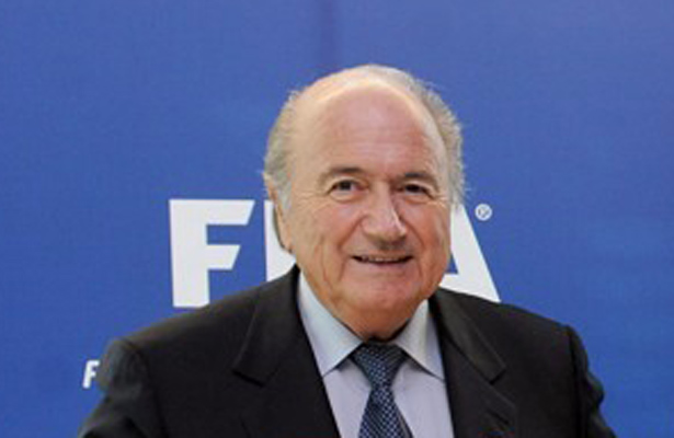 Sepp Blatter announced his resignation Tuesday afternoon. Photo Courtesy: Bjørn Heidenstrøm