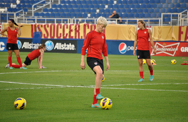 Megan Rapinoe and the U.S. Women's team are on a mission in this year's World Cup. Photo Courtesy: Nicole Miller