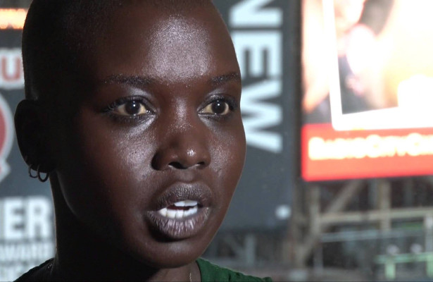 Nykhor Paul shares her feelings on race in the model world. Photo Courtesy: Youtube