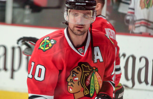 Patrick Sharp spent the past five plus years tormenting the Stars. Now he looks to bring his championship experience to Dallas. Photo Courtesy Sarah A.
