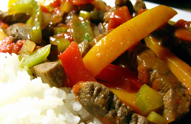 Pepper steak is really easy to prepare and so delicious . Photo Courtesy: Julia Frost