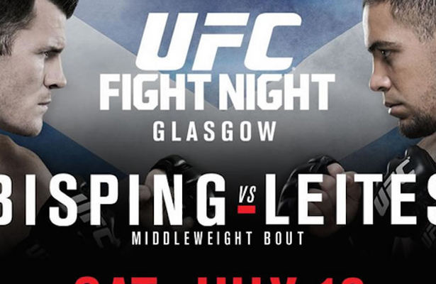 Although the UFC has held 15 fights in the UK previously, this will be the first one ever in Scotland.