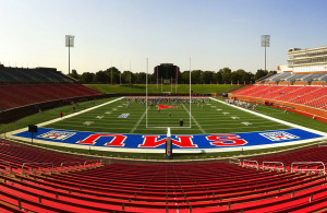 New head coach Chad Morris and the rest of the SMU football team look to have a bounce back year. Photo Courtesy: jmcstrav