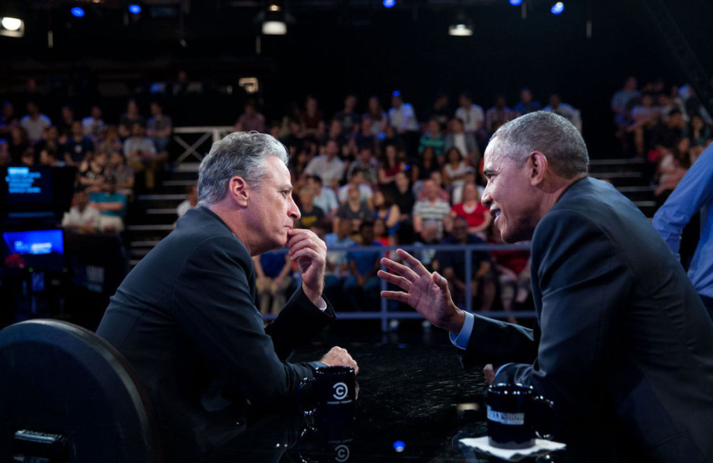 After 17 seasons Jon Stewart tops off 'The Daily Show' with the same humor and emotion he had since the beginning. Photo Courtesy: Peter Souza
