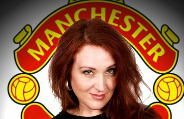 One of the only Manchester United fans who we could find at the last minute. Photo Courtesy: Lucky Lynda