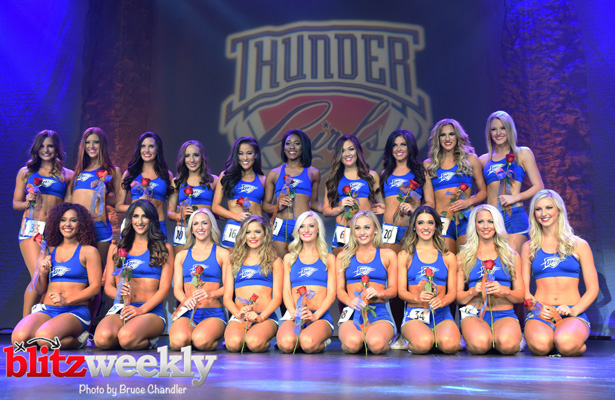 We agree that the Thunder Girls are excellent community ambassadors. Photo Courtesy: Bruce Chandler