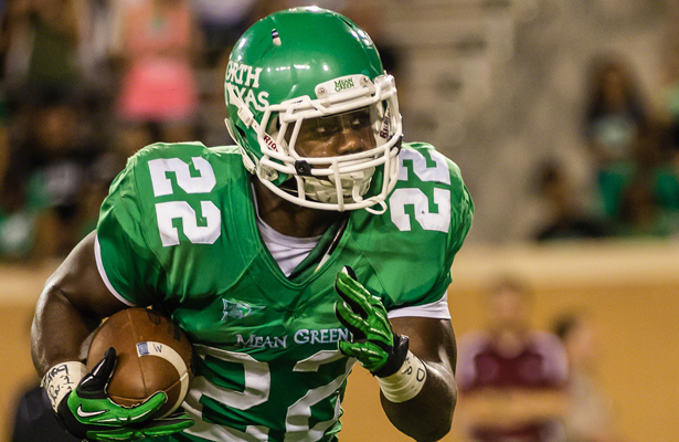 For the Mean Green offense to find success they'll need RB Antoinne Jimmerson to get going early. Photo Courtesy: Sandy McAnally