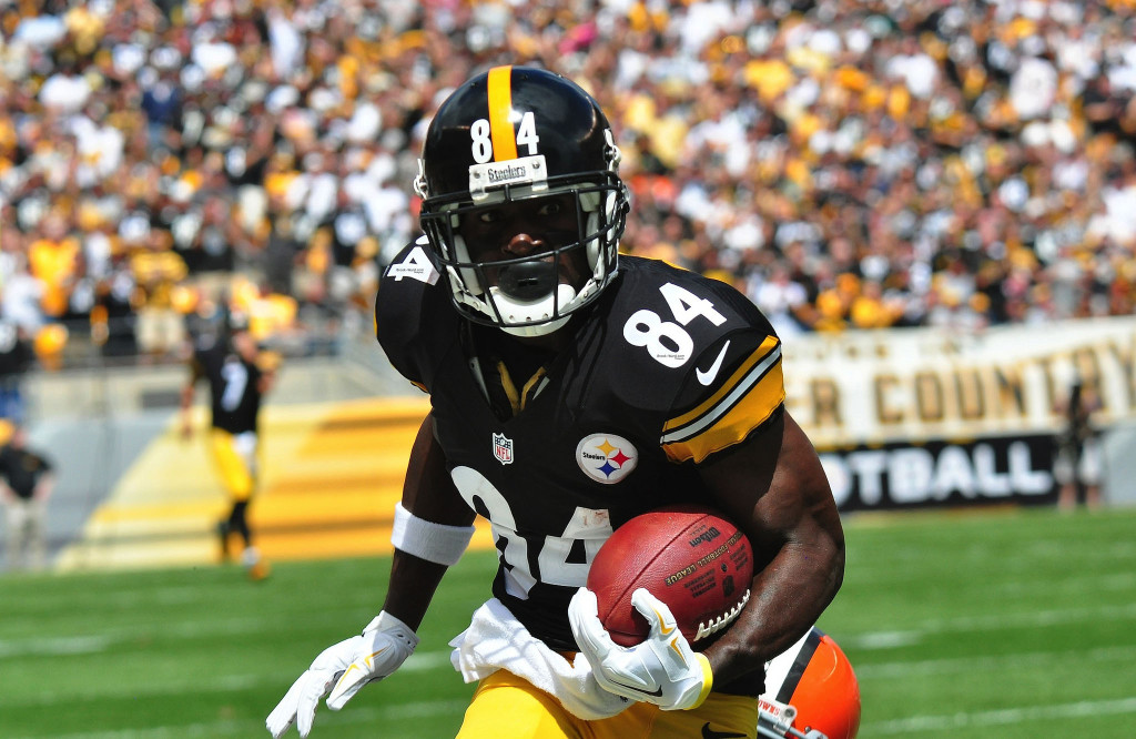 Can the emergence of Antonio Brown propel the Steelers to another Super Bowl Photo Courtesy: Brook Ward