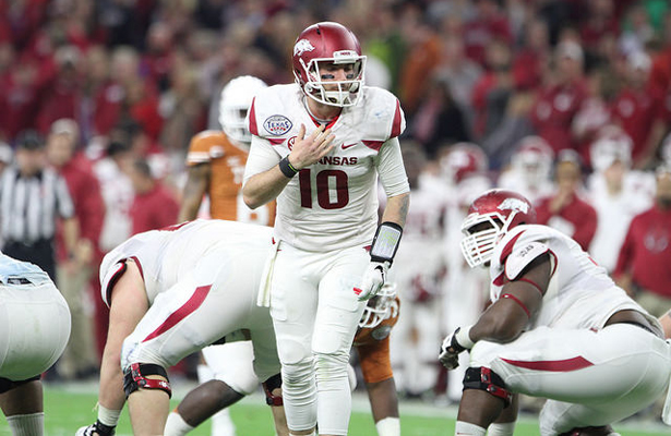 The Aggies defense will be on a mission to ruin Brandon Allen's day. Photo Courtesy: Rick Leal