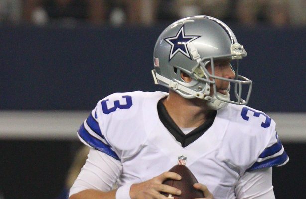 The eyes of the Cowboy Nation will be squarely on Brandon Weeden this Sunday. Photo Courtesy: Michael Kolch