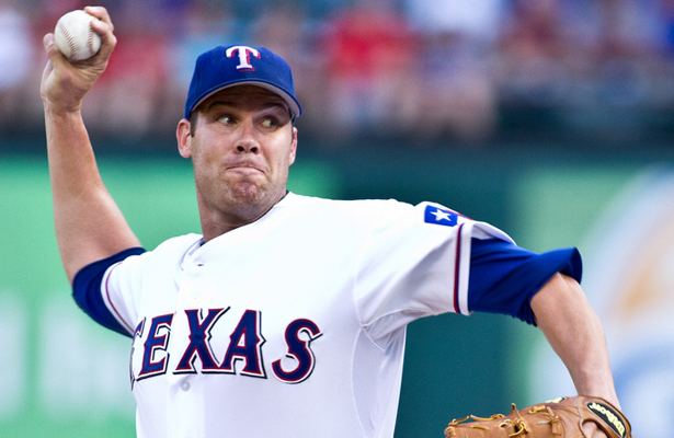Colby Lewis helped the Rangers get on track an excellent game last Friday. Photo Courtesy: Darryl Briggs