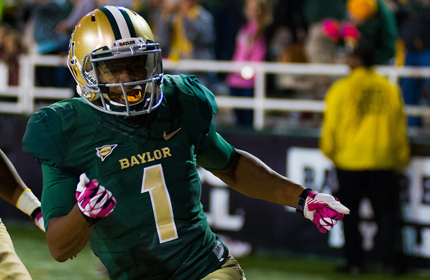 Corey Coleman had a huge game against the Mustangs with a TD and 178 yards receiving. Photo Courtesy: Matthew Lynch